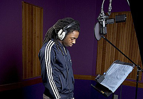 Wechsler blog: lil wayne in studio